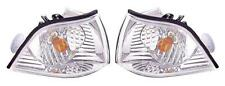 BMW 3 Series E36 2Dr Coupe Cabrio 90-00 Front Indicator Crystal Clear Pair