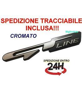 Stemma Fregio Logo 3d Adesivo EMBLEMA GTLINE GT LINE Peugeot Kia RIO SPORTAGE