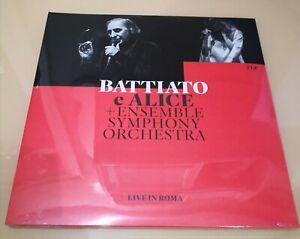 FRANCO BATTIATO - Live in Roma - 2LP VINYL ED.LIM. ROSSO SIGILLATO!