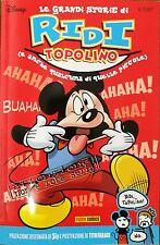 DISNEY - Le Grandi Storie di Ridi Topolino - Panini Comics - ITALIANO NUOVO