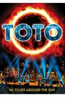 TOTO - 40 TOURS AROUND THE SUN (DVD)   DVD NEW+