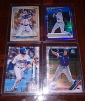 GAVIN LUX RC ROOKIE PROSPECT LOT(4) BOWMAN CHROME,TOPPS,DONRUSS RR, GYPSY QUEEN!