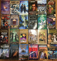Lot Of 20 SCIENCE FICTION / FANTASY SCI FI PAPERBACK BOOK AUTHOR MIX RANDOM PICK