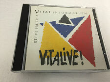 Vitalive! 2002 CD by Steve Smith 4011687205127 NR MINT
