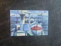2014 ALAND, FINLAND THE NORTH BY THE SEA STAMP MINI SHEET MNH