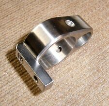 CUSTOM SOLID STAINLESS STEEL BARREL BAND w/ grub screws for Crosman 2250 2400