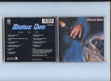 Status Quo Never Too Late West Germany Vertigo Blue Swirl 1st Press CD 1983