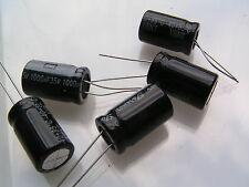 Condensador electrolítico para siempre 35v 1000uF 85'C 5 piezas OL0058