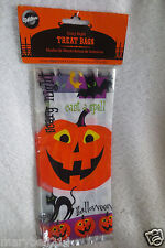 Wilton Halloween Scary Night Treat Bags Favor With Ties 20ct  New