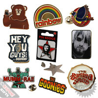 Metal Pin Badges - Retro Novelty Music TV Collectable Badge Accesories Cheap