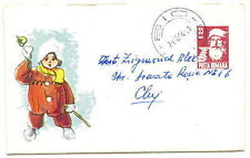 Romania 1964 Santa Claus  Liliput stationery cover (3)
