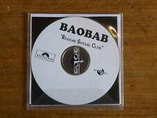 BAOBAB Reggae social club DISQUE PROMO 13 titres