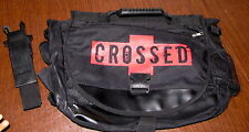 Crossed Black Messenger Laptop Bag Garth Ennis Avatar VIP Exclusive NYC Comic