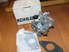 Genuine OEM Kohler CARBURETOR W/GASKET part# [KOH][24 853 03-S]