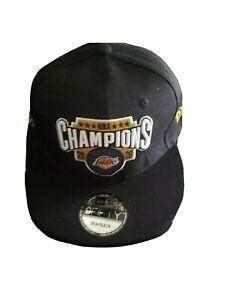 2020 LA LAKERS CHAMPIONSHIP New Era Commemorative Cap/Hat