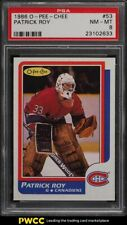 1986 O-Pee-Chee Hockey Patrick Roy ROOKIE RC #53 PSA 8 NM-MT