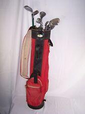 Lot of 12 Excalibur Golf Bag Kunnan Bio-Tech Oversize Mizuno Top Flite Plus