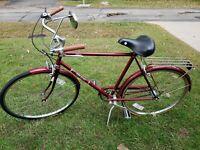 "VTG Men's  Sears Roebuck Free Spirit Brittany 26""  Bike (3 speed)great condition"