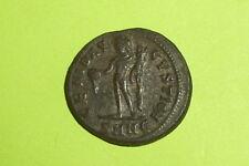 Genuine Ancient ROMAN COIN genius MAXIMINUS II DAIA 305 AD patera tool VG VF old