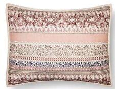 Threshold Global Stripe Pillow Sham Standard Blue / Tan / Multi