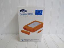 LaCie Rugged RAID Thunderbolt and USB 3.0 4TB STFA4000400 - Brand New -