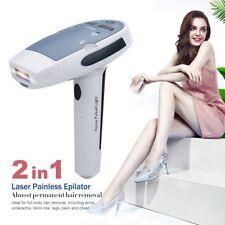 2in1 Laser IPL Permanent Hair Removal Machine Face&Body Skin Painless Epilator