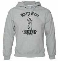 Men's Mighty Micks  Boxing Hoodie - Funny Retro Fight Ring Gym Gloves Club Rocky