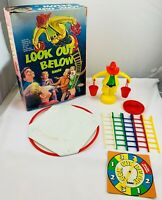 1968 Look Out Below Game by Ideal Complete in Very Good Condition FREE SHIPPING