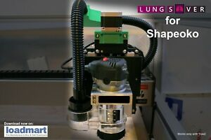 LUNG SAVER Dust Collection System for Shapeoko CNC for TrueZ Owners 3D Printed