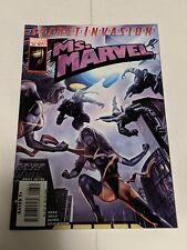 Ms Marvel #26 June 2008 Marvel Comics Secret invasion Reed Melo Benes Sotomayor