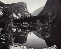 1950s Vintage ANSEL ADAMS Mirror Lake Yosemite Valley Spring Photo Art 11X14