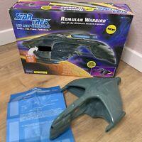1993 Playmates Toys Star Trek Next Generation Romulan Warbird Vintage #6154