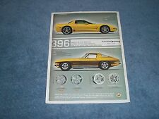 2005 American Racing Wheels with 1965 Corvette Coupe & '05 Z06
