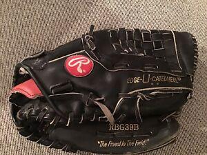 "Rawlings RBG39B Ken Griffey Jr' Baseball Glove - 12.5"" RHT"