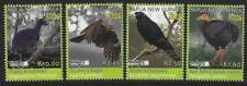 PAPUA NEW GUINEA 2018 BIRDS SET OF 4 BIRDPEX UNMOUNTED MINT, MNH