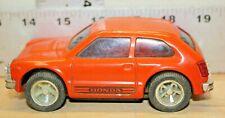 Vintage Tonka Honda Civic Coupe Pressed Steel Orange made in Japan