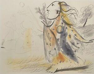 "PABLO PICASSO ""Minotaure et Femme"" Limited Edition Lithograph - Marina Picasso"
