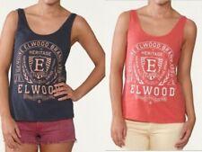 NWT Elwood Women's Muscle Tank Top Singlet Sleeveless Workout Cami Shirt SZ XS-L