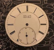 High grade Tiffany private lable Badollet  pocket watch movement RUNS