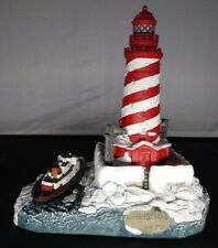 1997 Christmas Harbour Lights White Shoal Light Mi Lighthouse #7484. An2344 Vgc