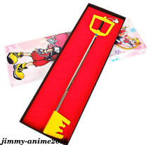 Game Kingdom Sora Keyblade In Box Cosplay Metal Props Accessories Boys Girls