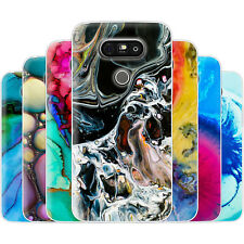 Dessana Abstract Mineral TPU Silicone Protective Cover Phone Case Cover For LG
