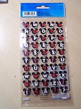 Disney Dimensional Stickers - Mickey Ears Alphabet