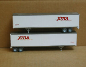 Walthers HO 2 XTRA 48' Trailers