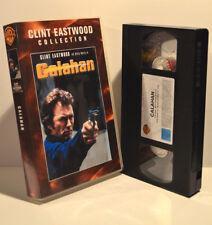 Calahan, Clint Eastwood, Warner Home Video 2000, FSK 16 J, PAL, VHS