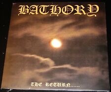 Bathory: The Return - Limited Edition LP Vinyl Record 2014 Black Mark UK NEW