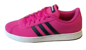 Ladies Pink Adidas Trainers UK Size 6 - only worn once
