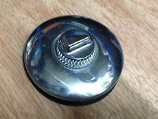 VINTAGE STYLE TAX DISC HOLDER  TWIST ON SELF SUPPORTING TYPE STAINLESS STEEL