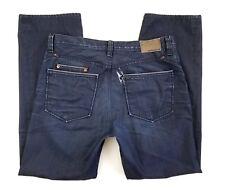 Kasil Workshop Jeans Davidson Straight Size 35 x 31 Indigo Dark David Lim USA