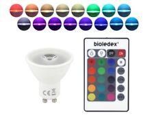 LED Strahler 3W GU10 RGB + Fernbedienung 16 Farben 230V Leuchtmittel Spot